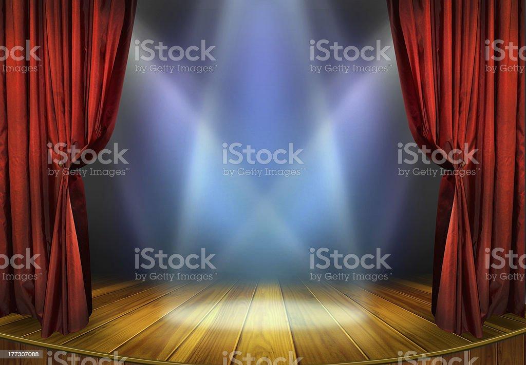 Etapa de teatro - foto de stock