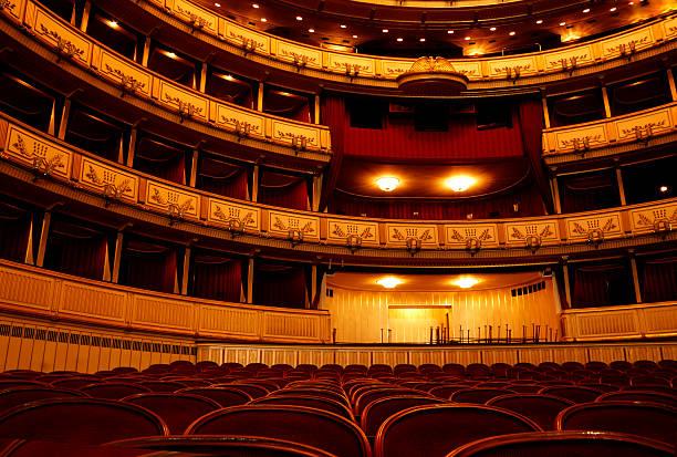 theater-blick - stage musical stock-fotos und bilder