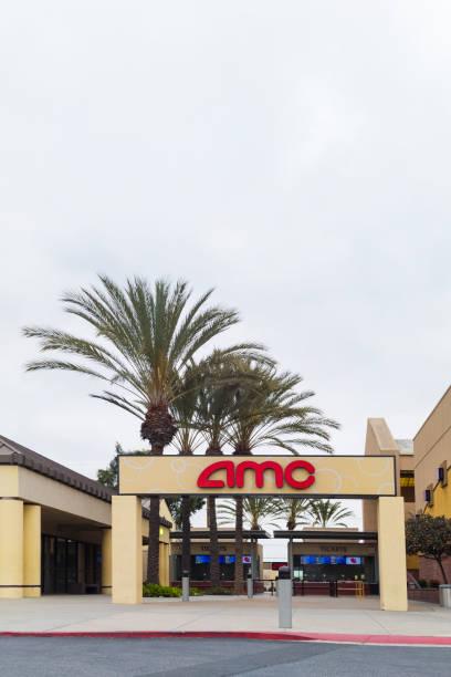 AMC Theaters Entrance stock photo