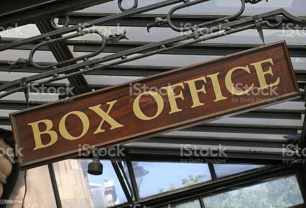 Theatre Box Office royalty-free stock photo