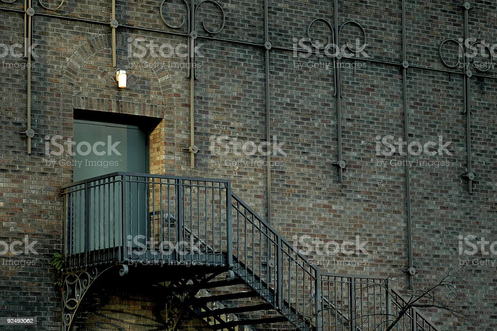 Theatre Door royalty-free stock photo