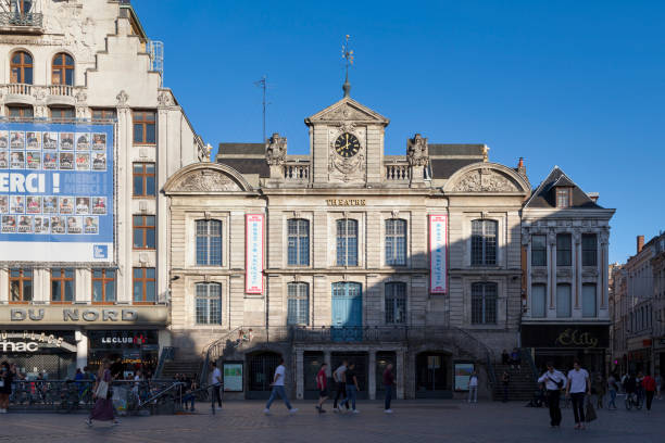 Theatre du Nord in Lille stock photo