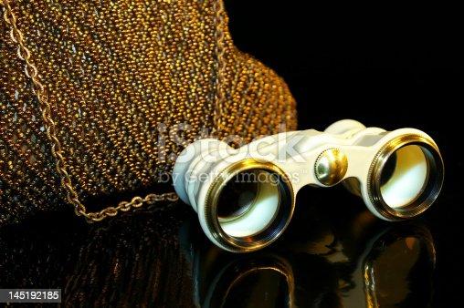 istock theatre handbag and opera-glass 145192185