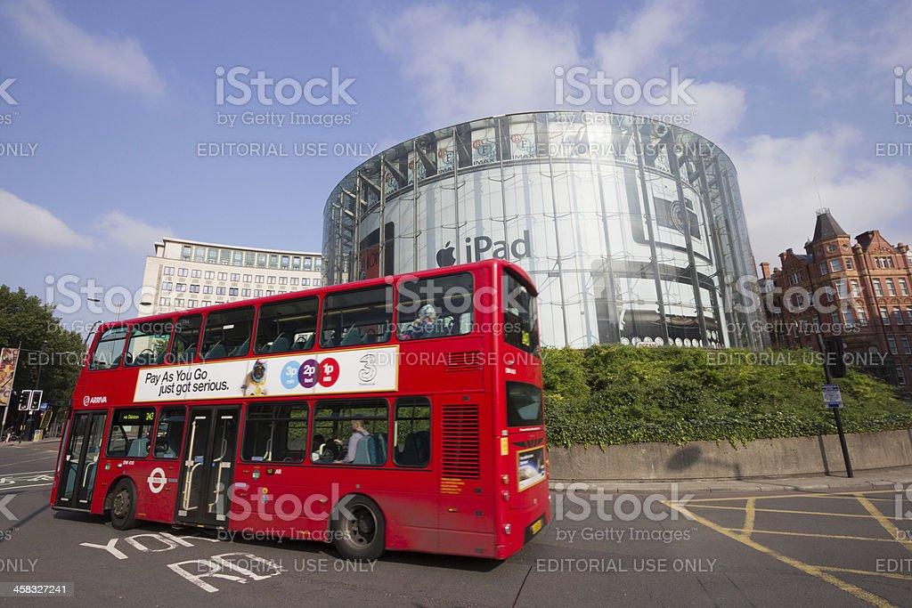 IMAX Theatre in London, England stock photo