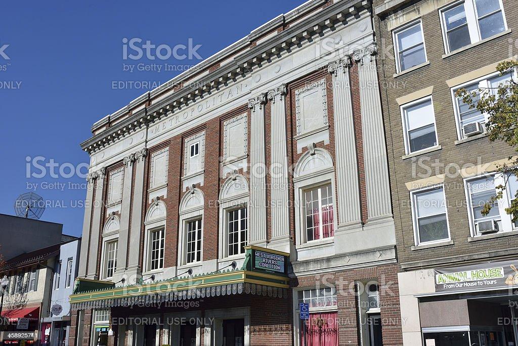 Theatre in Morgantown stock photo