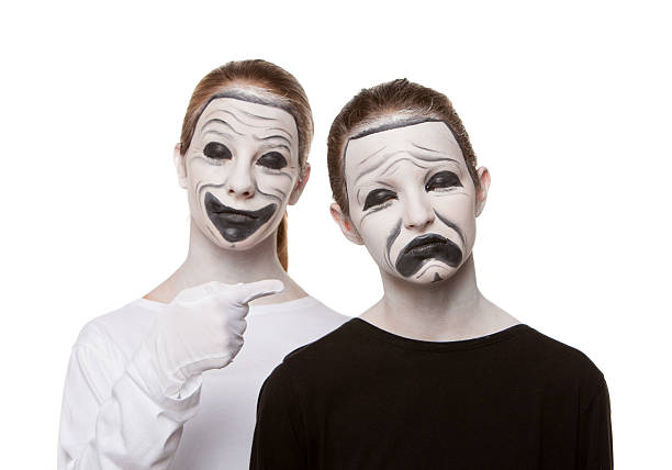 Theatre Masks stock photo