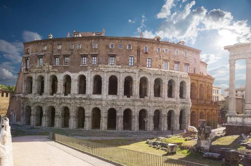 Theatre of Marcellus. Rome. Italy.