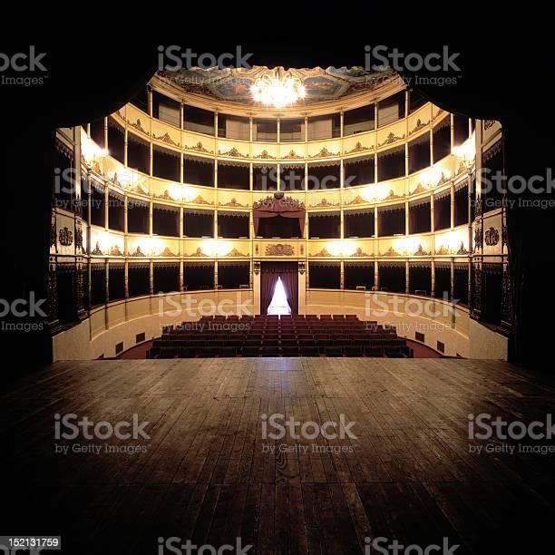Teatro Stock Photo - Download Image Now