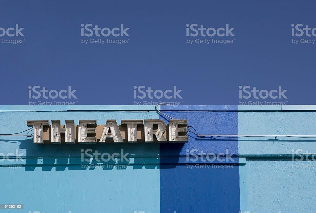 Theatre stock photo