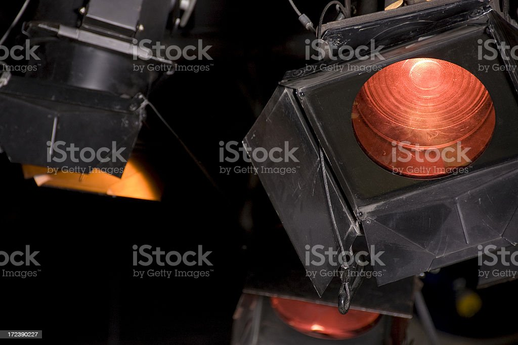Theatre projectors royalty-free stock photo