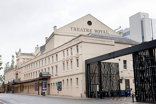 Theatre Royal, Glasgow stock photo