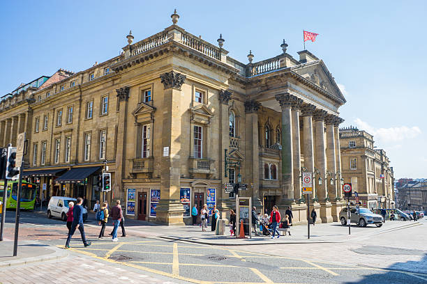 Theatre Royal, Newcastle stock photo