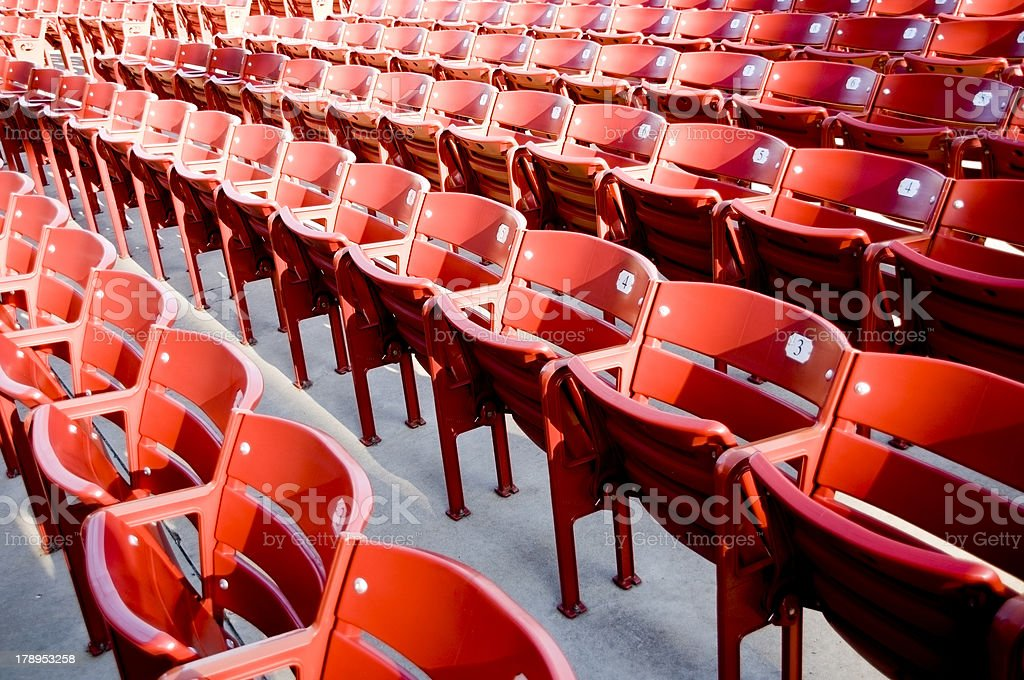 Theatre Seating royalty-free stock photo