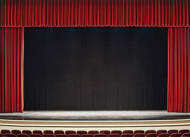 theatre stage - stage performance space stock pictures, royalty-free photos & images