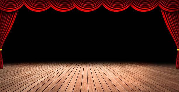 theater bühne - stage musical stock-fotos und bilder