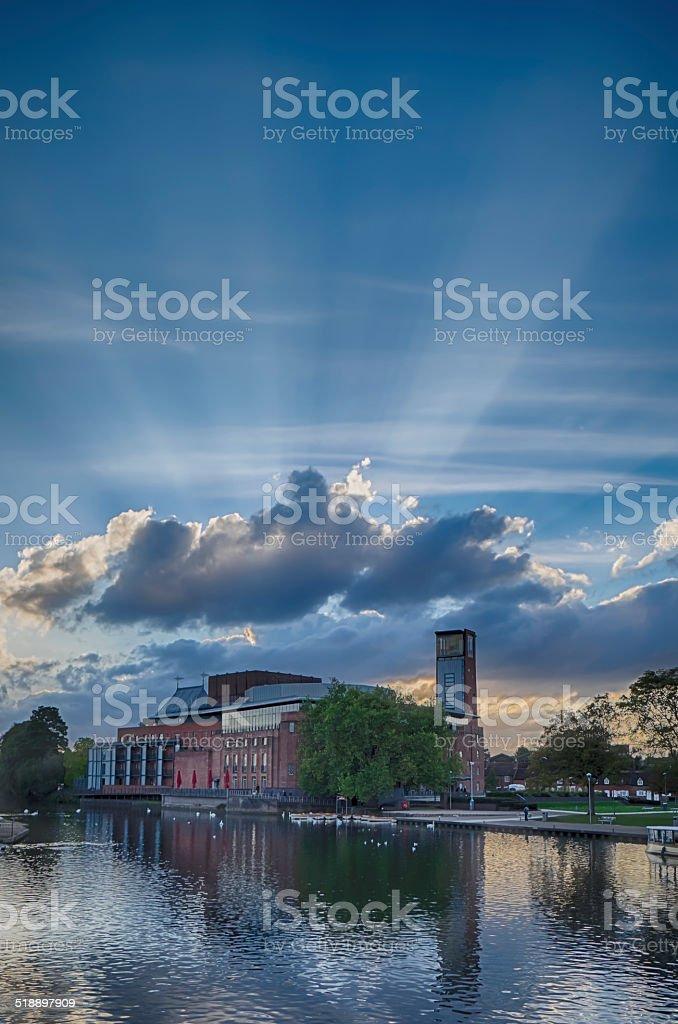 Theatre - Stratford upon Avon stock photo
