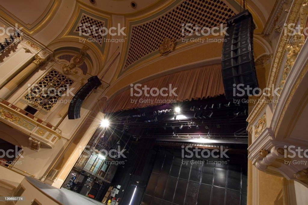 TheatreFromOrchestra stock photo
