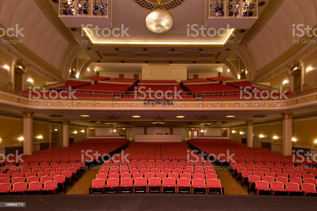 TheatreFromStage stock photo