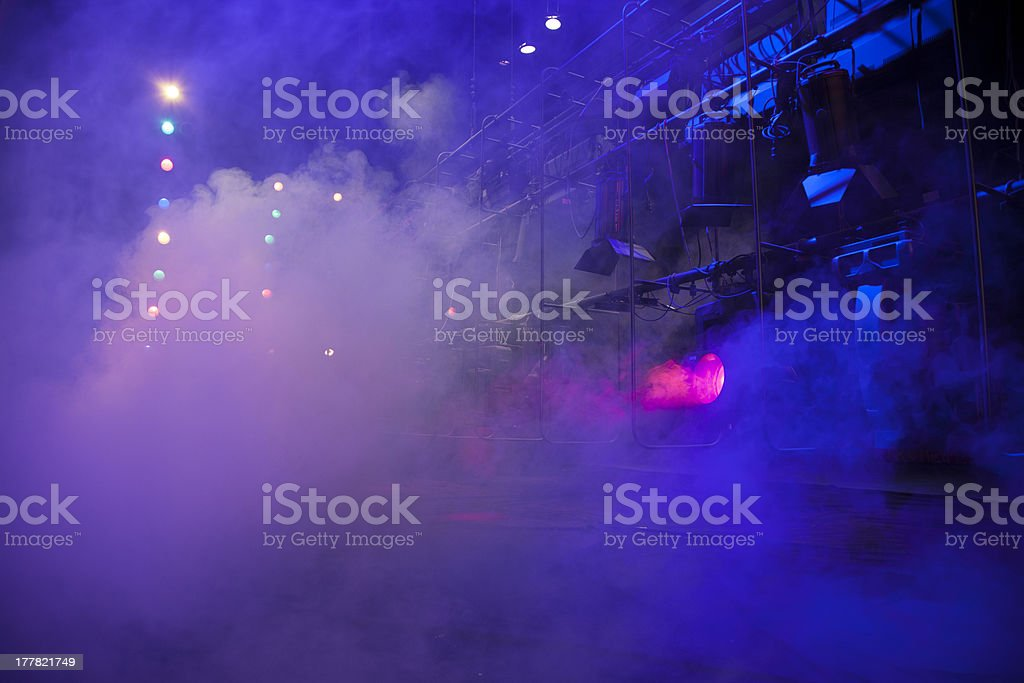 Theatrical light royalty-free stock photo