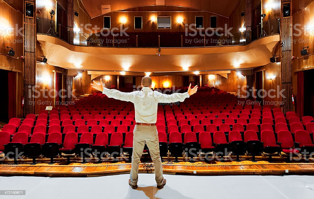 Theatrical Performance stock photo