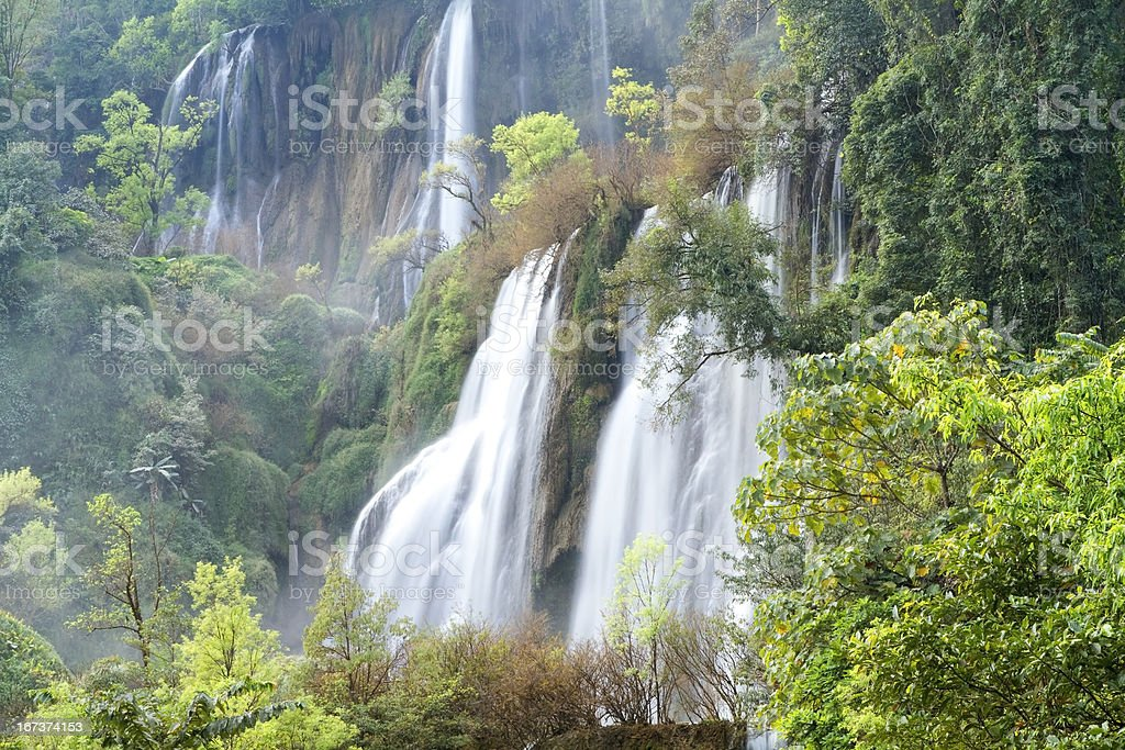 Thee Lor Su waterfall royalty-free stock photo