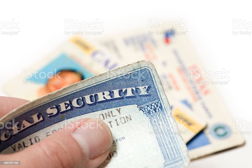 ID Theft stock photo