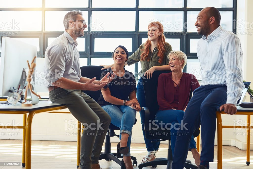 Their dynamic approach is what distinguishes them from the rest stock photo