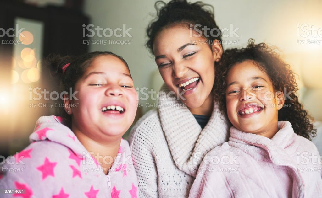 Their Laughter Sounds Like Pure Bliss To My Ears Stock Photo