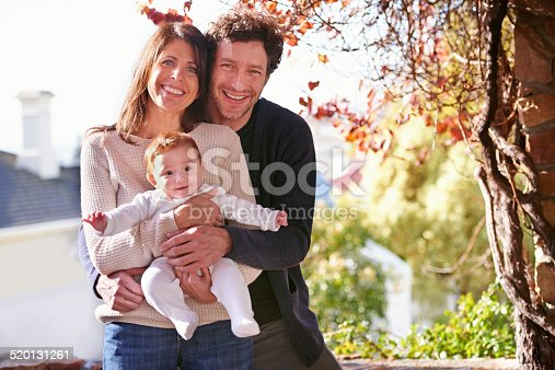 istock Their little bundle of joy 520131261