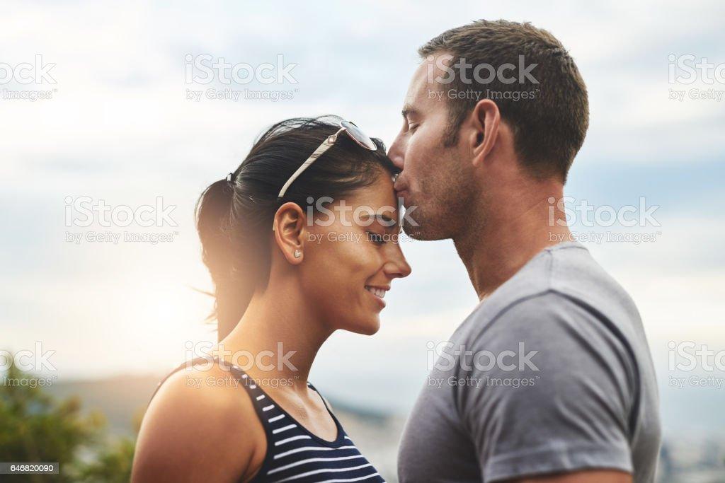 Su amor es algo especial - foto de stock