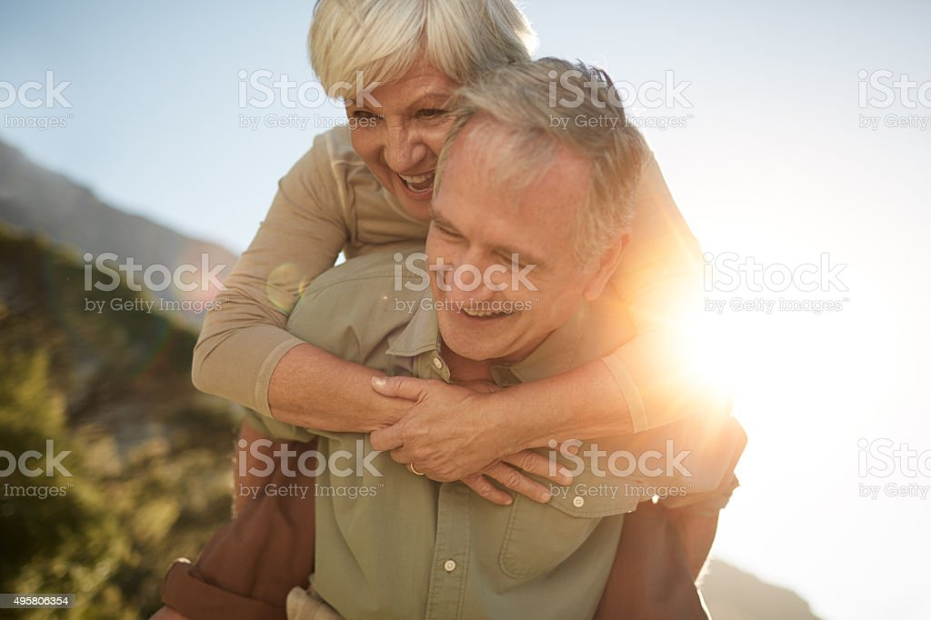 Their love will last a lifetime stock photo