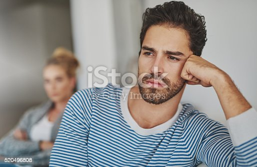 520496686 istock photo Their marriage is in trouble 520496808