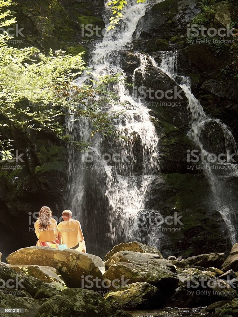 Their Moment Alone royalty-free stock photo