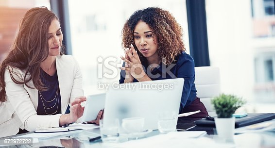 istock Their tool of choice for team tasks 672972722