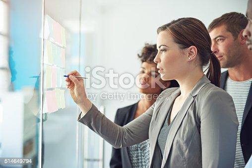 istock Their whole team is involved in executing a successful project 514649794