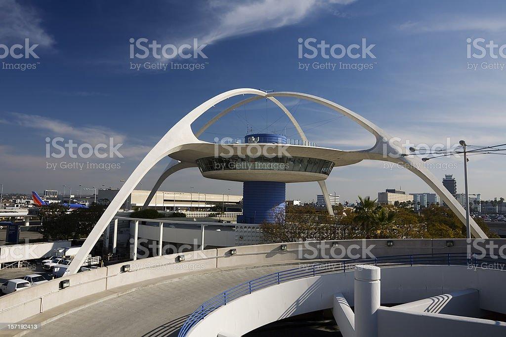 LAX Theme Building stock photo