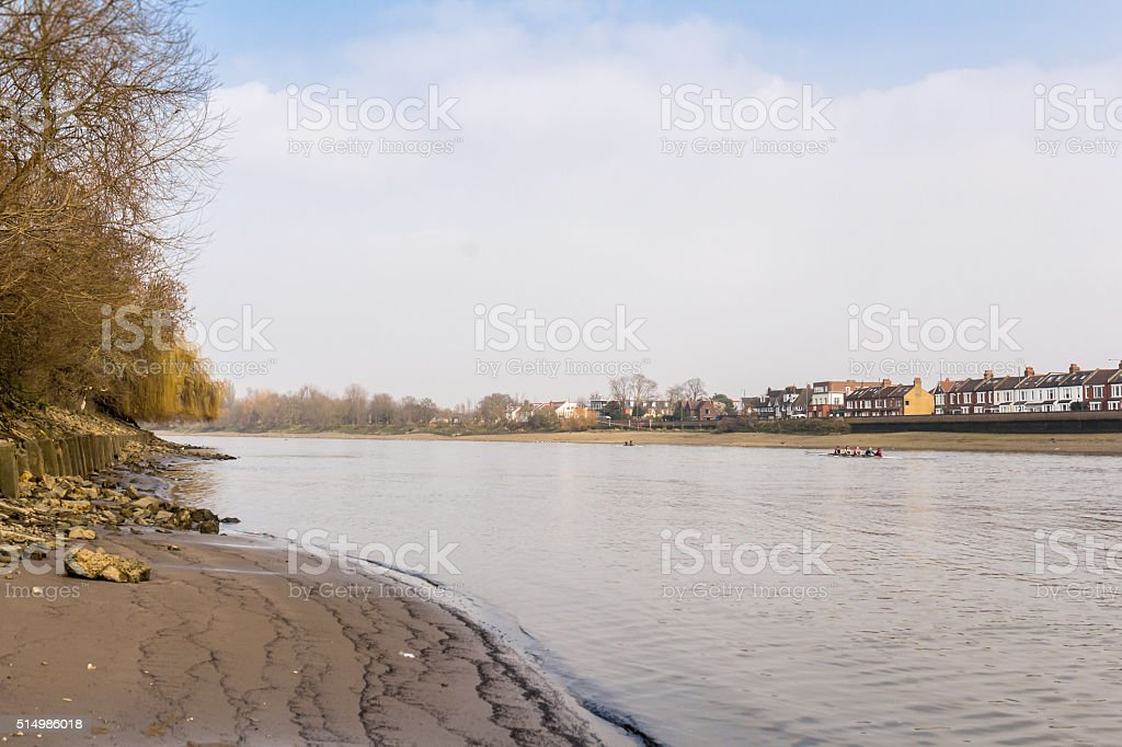 Themes in spring, London stock photo