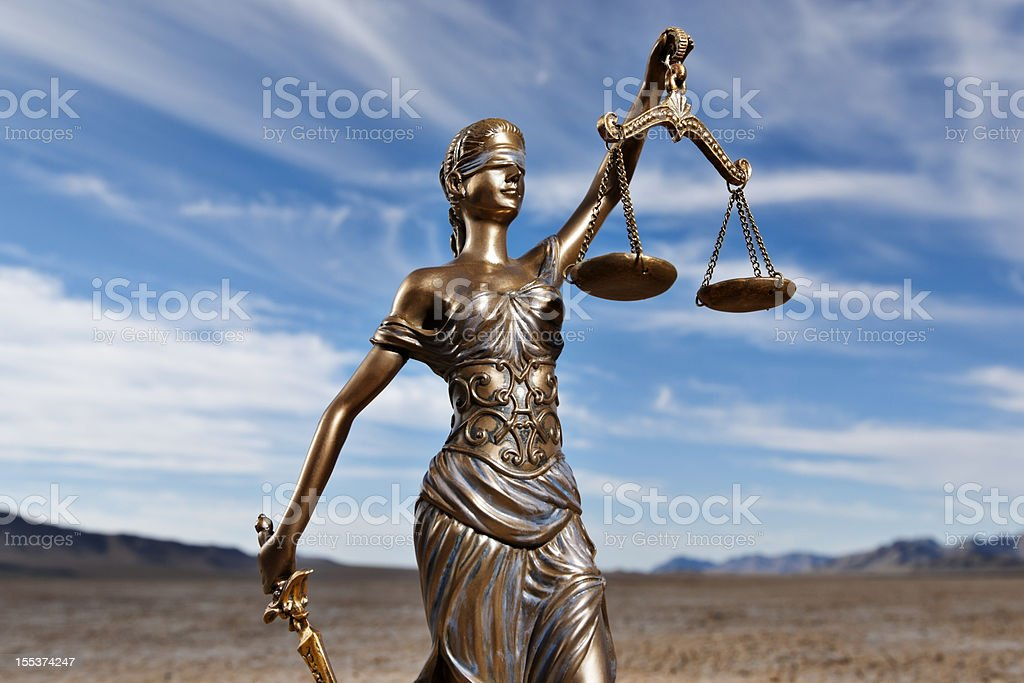 Themis in Dry Lake Bed royalty-free stock photo