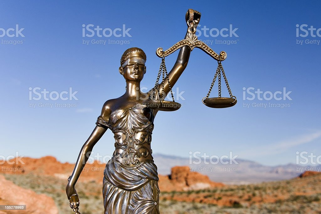 Themis in Sandstone Valley royalty-free stock photo