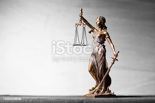 istock Themis statue, symbol of law and justice 1055009898
