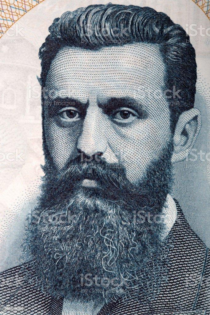 Theodor Herzl-Porträt - Lizenzfrei Aktivist Stock-Foto