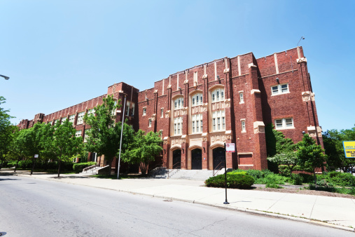 Theodore Roosevelt High School In Albany Park Chicago ...