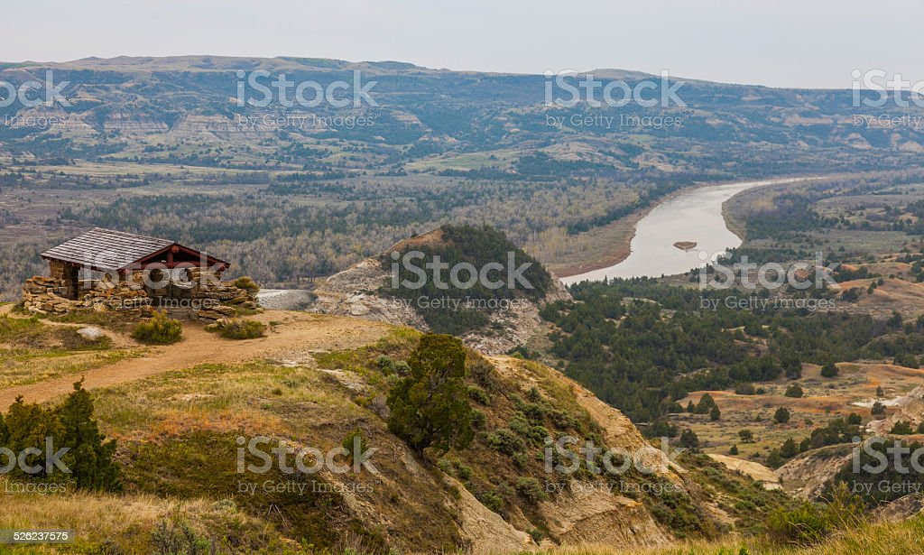 Theodore Roosevelt National Park - North Dakota stock photo