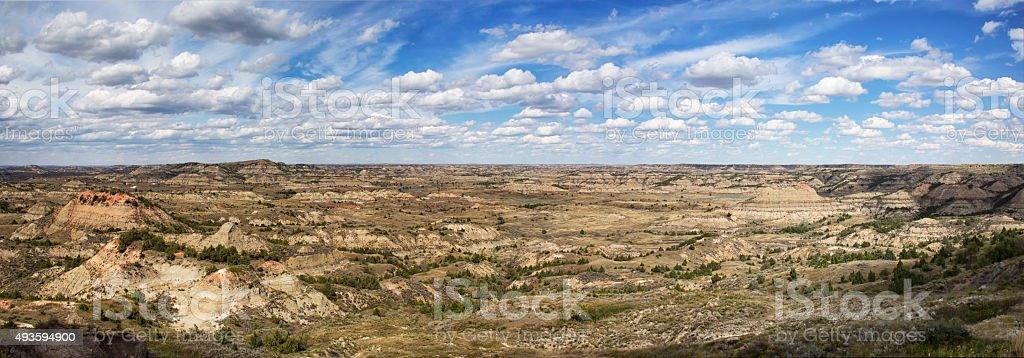 Theodore Roosevelt National Park stock photo