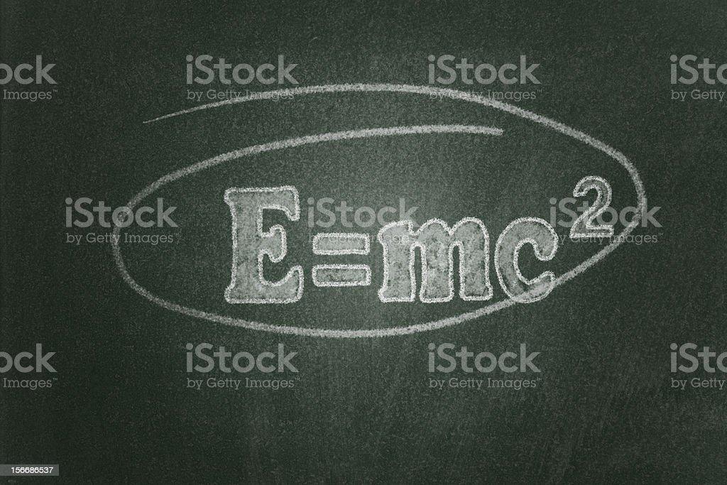Theory of Relativity royalty-free stock photo