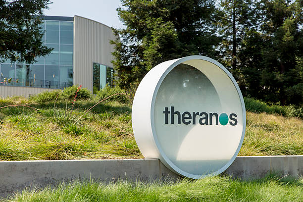 Theranos Headquarters in Silicon Valley stock photo