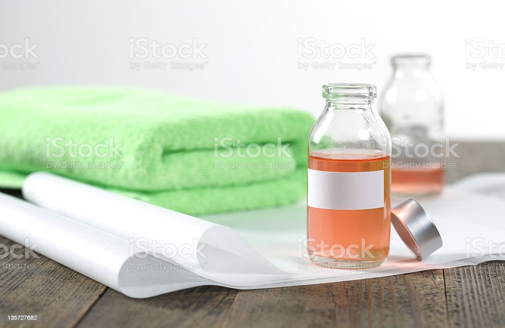 therapy products royalty-free stock photo