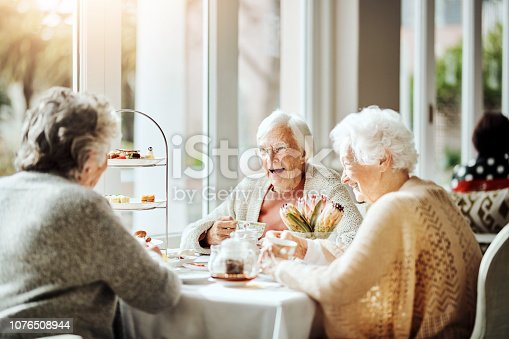 1053414472istockphoto There are few things more enjoyable than tea with friends 1076508944