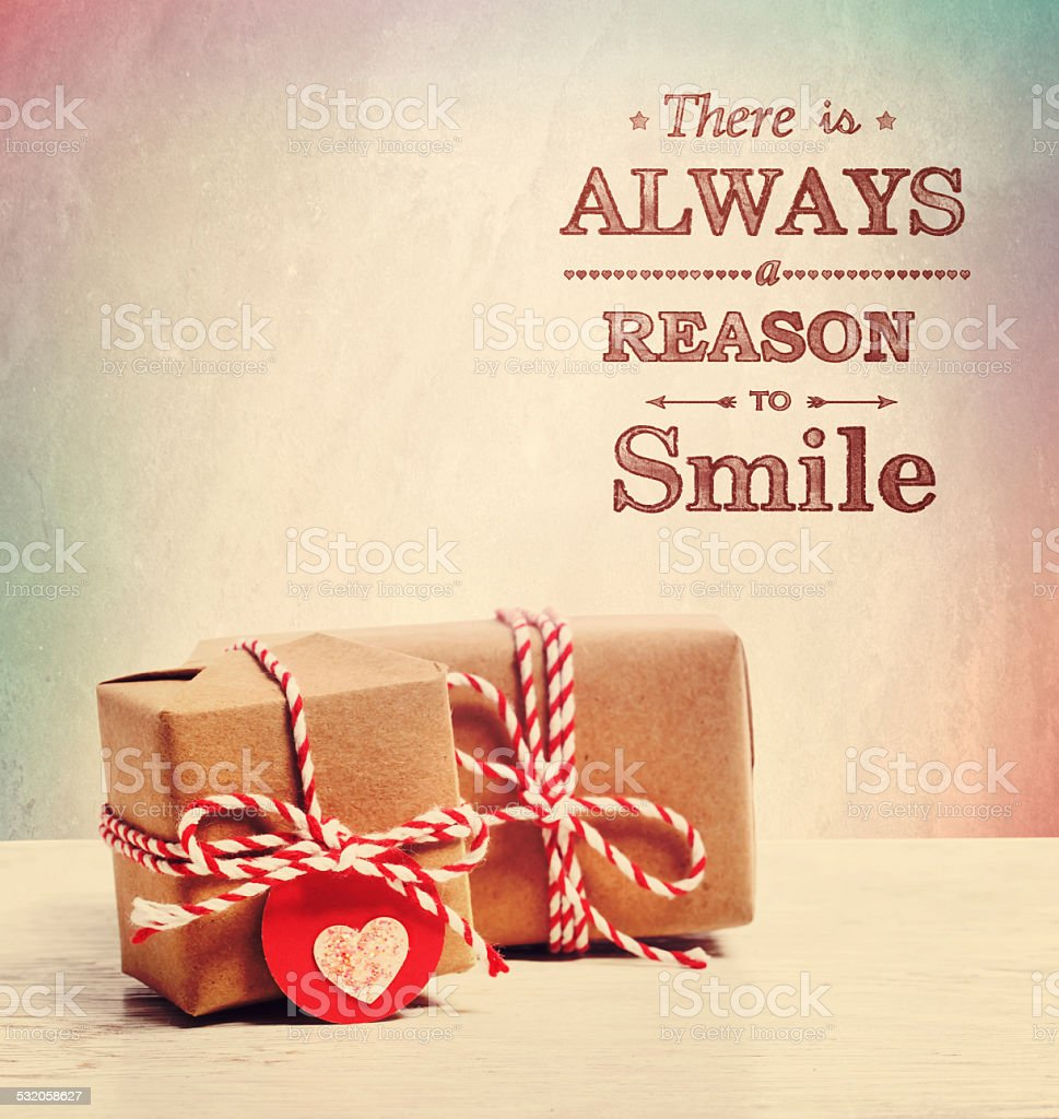 There is always a reason to smile stock photo