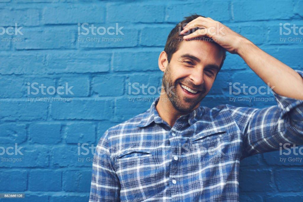 Il y a beaucoup à rire dans la vie - Photo
